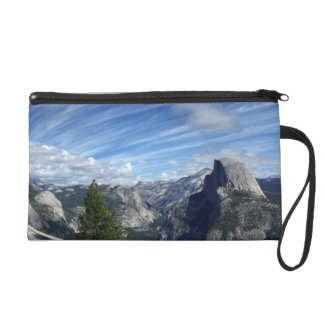 Above Half Dome Wristlet Purse