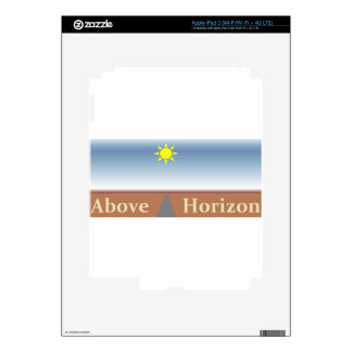 Above Horizon Skins For iPad 3