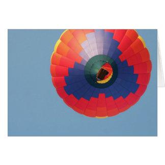 Above: Hot Air Balloon Card