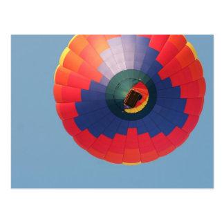Above: Hot Air Balloon Postcard
