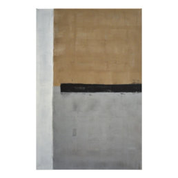 'Above' Neutral Abstract Art Poster Print