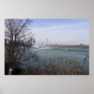 Above Niagara Falls Posters