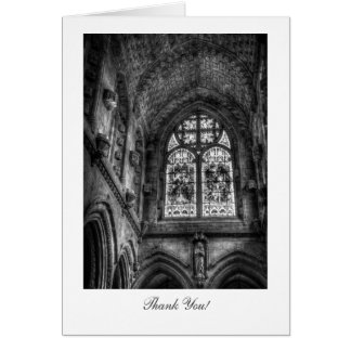 Above The Chapel Altar - Thank You Greeting Card