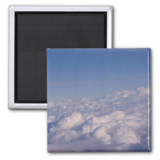 above the clouds 2 inch square magnet