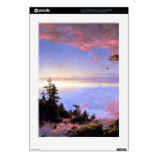 Above the clouds at sunrise by Frederick  Church PS3 Console Decals