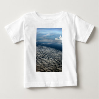 Above the clouds blue sky baby T-Shirt