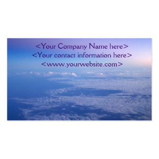 Above the Clouds Business Cards