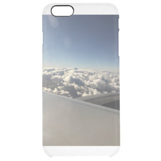 Above the clouds. clear iPhone 6 plus case