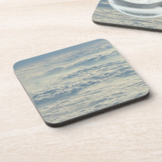 Above The Clouds custom coasters