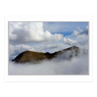 ABOVE THE CLOUDS: Dawson Pass Postcard