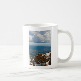 Above the Clouds Classic White Coffee Mug