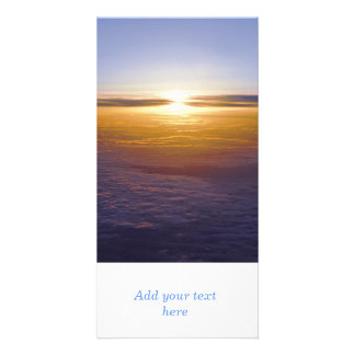 Above the clouds photo cards