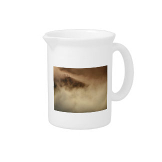 Above the clouds pitcher