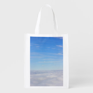 Above the Clouds Reusable Bag Market Tote