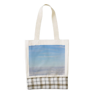 Above the Clouds Zazzle HEART Tote Bag