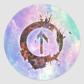 Above the Influence Classic Round Sticker