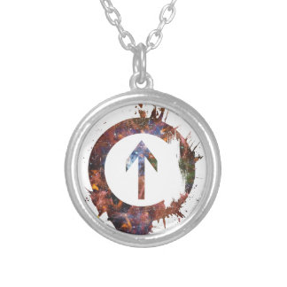 Above the Influence - Cosmic Silver Plated Necklace