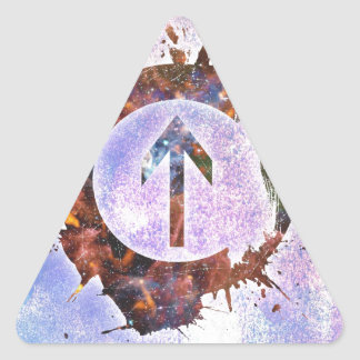 Above the Influence Triangle Sticker