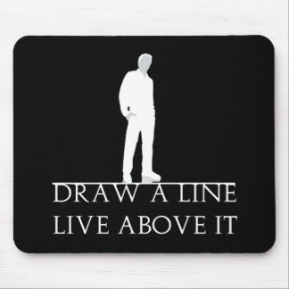 Above the Line Mouse Pad