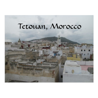 Above the Medina -- Tetouan, Morocco Postcard