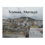 Above the Medina -- Tetouan, Morocco Postcards