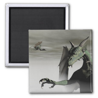 Above the Mist 2 Inch Square Magnet