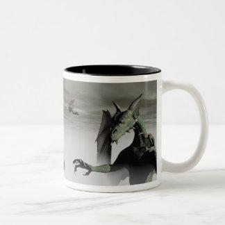 Above the Mist Two-Tone Coffee Mug