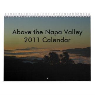 Above the Napa Valley Calendar
