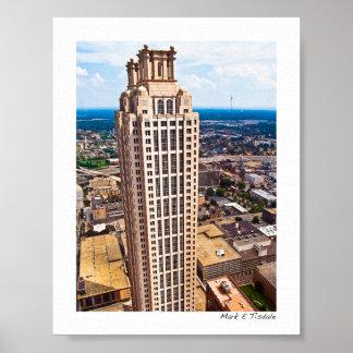 Above The Rest - Atlanta Skyline - Mini Print