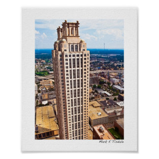 Above The Rest - Atlanta Skyline - Small Posters