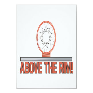 Above The Rim Card