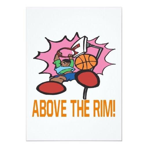 Above The Rim Custom Invite