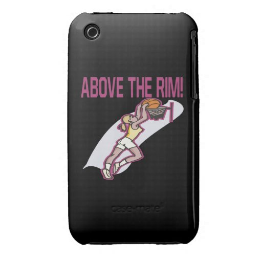 Above The Rim iPhone 3 Cover