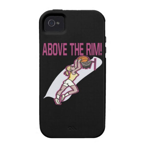 Above The Rim iPhone 4 Cover