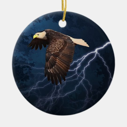 ABOVE THE STORM CERAMIC ORNAMENT