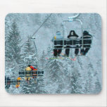 above the trees mouse pad