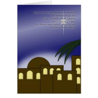"""Above thy deep..."" Greeting Card"
