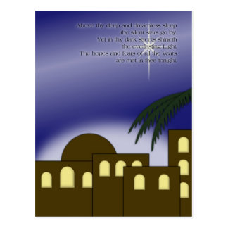 """Above thy deep..."" Postcard"