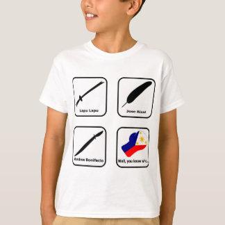 ABPinoy_heroic symbols light T-Shirt