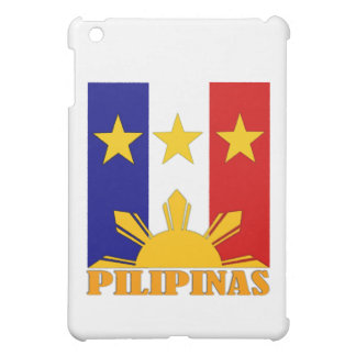 ABPinoy_pilipinas flag mod1 Case For The iPad Mini