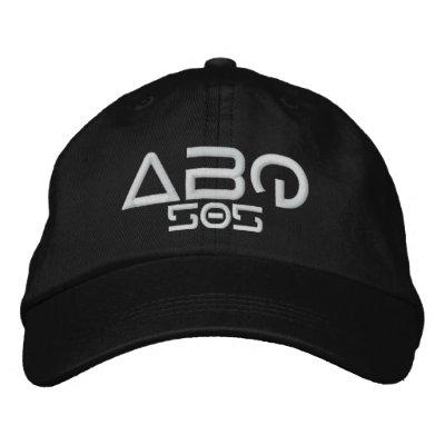 ABQ 505 EMBROIDERED BASEBALL CAP