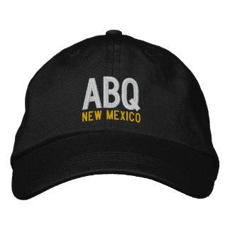 ABQ New México Gorras Bordadas