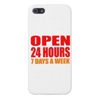 Abra 24 horas iPhone 5 carcasa