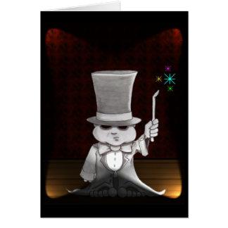 abra cadabra greeting card