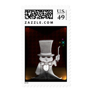 abra cadabra lights postage stamp