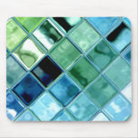 Abra el arte de cristal Mousepad del mosaico de la