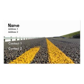 Abra el camino plantilla de tarjeta de visita