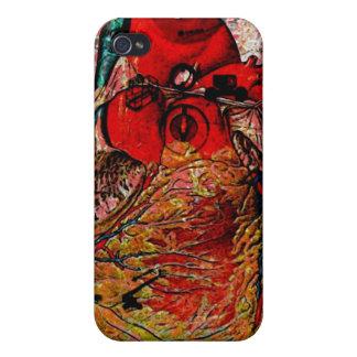 abra el corazón iPhone 4/4S funda