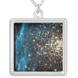 Abra el cúmulo de estrellas NGC 1850 en la Colgante Cuadrado