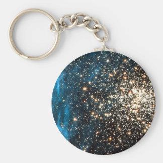 Abra el cúmulo de estrellas NGC 1850 en la constel Llavero Redondo Tipo Pin